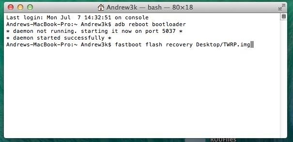 How to Unlock the Bootloader, Install a Custom Recovery