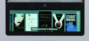 Set up and use the features on the Nook e-reader