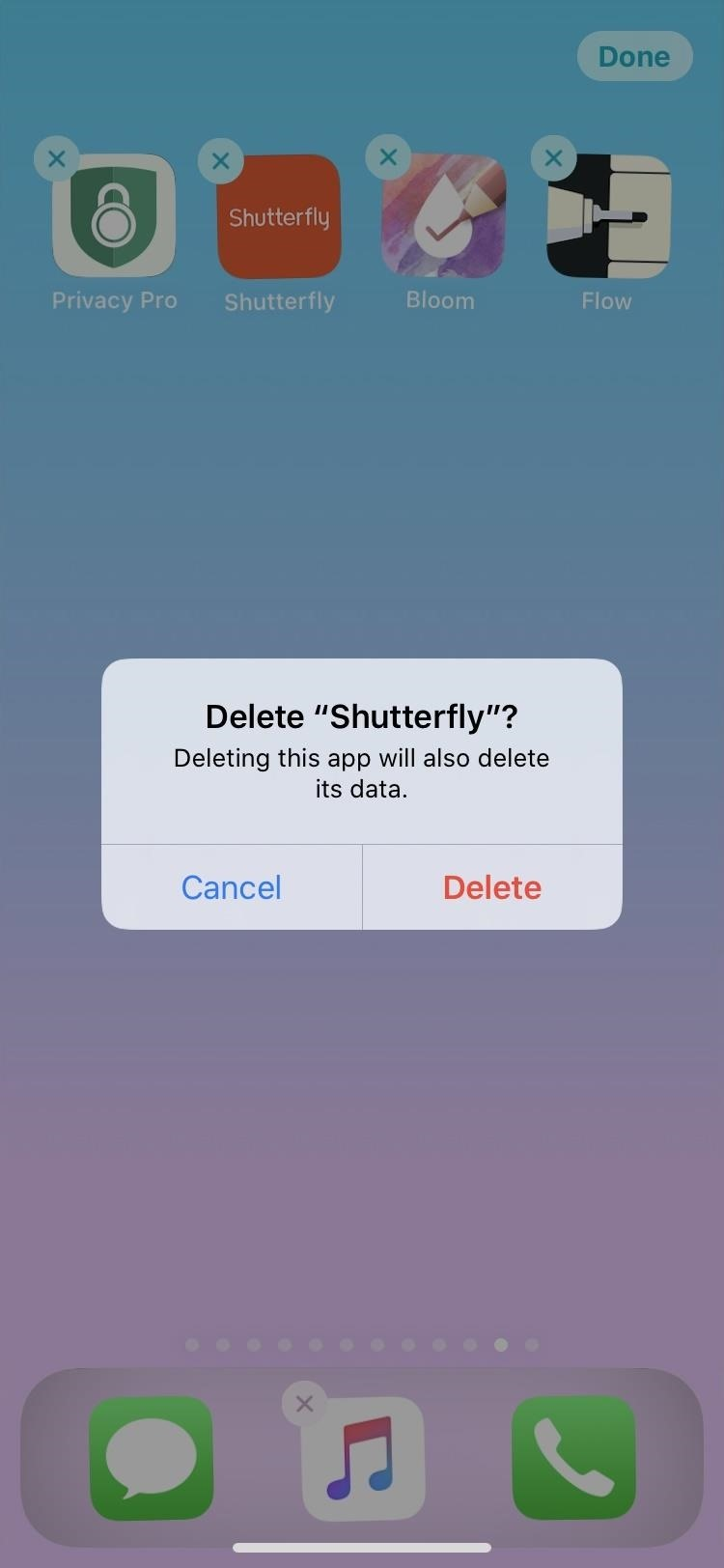 Rearranging and Removing Apps from the Home Screen of Your iPhone in iOS 13