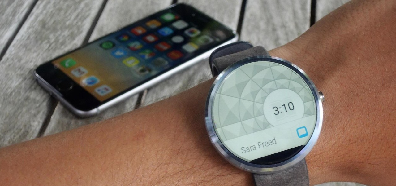 Set Up & Use an Android Wear Smartwatch on Your iPhone