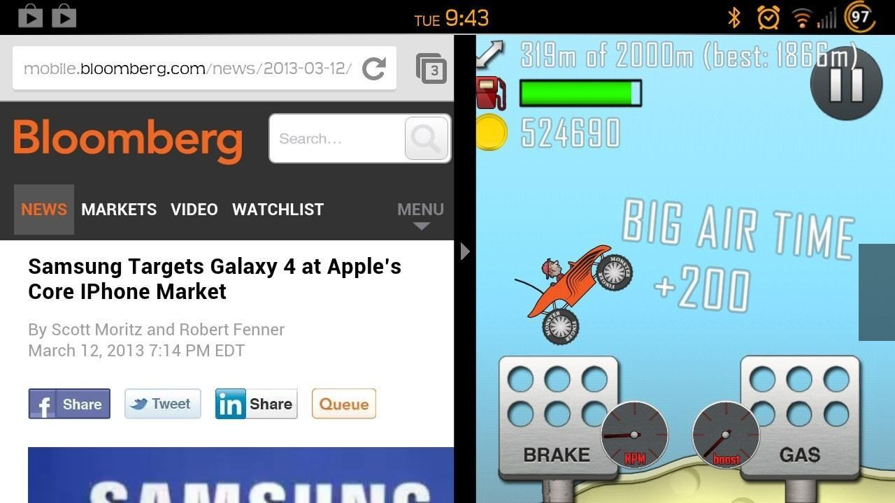 How to Install Multi-View on Your Samsung Galaxy S3 to Run Multiple Apps at the Same Time