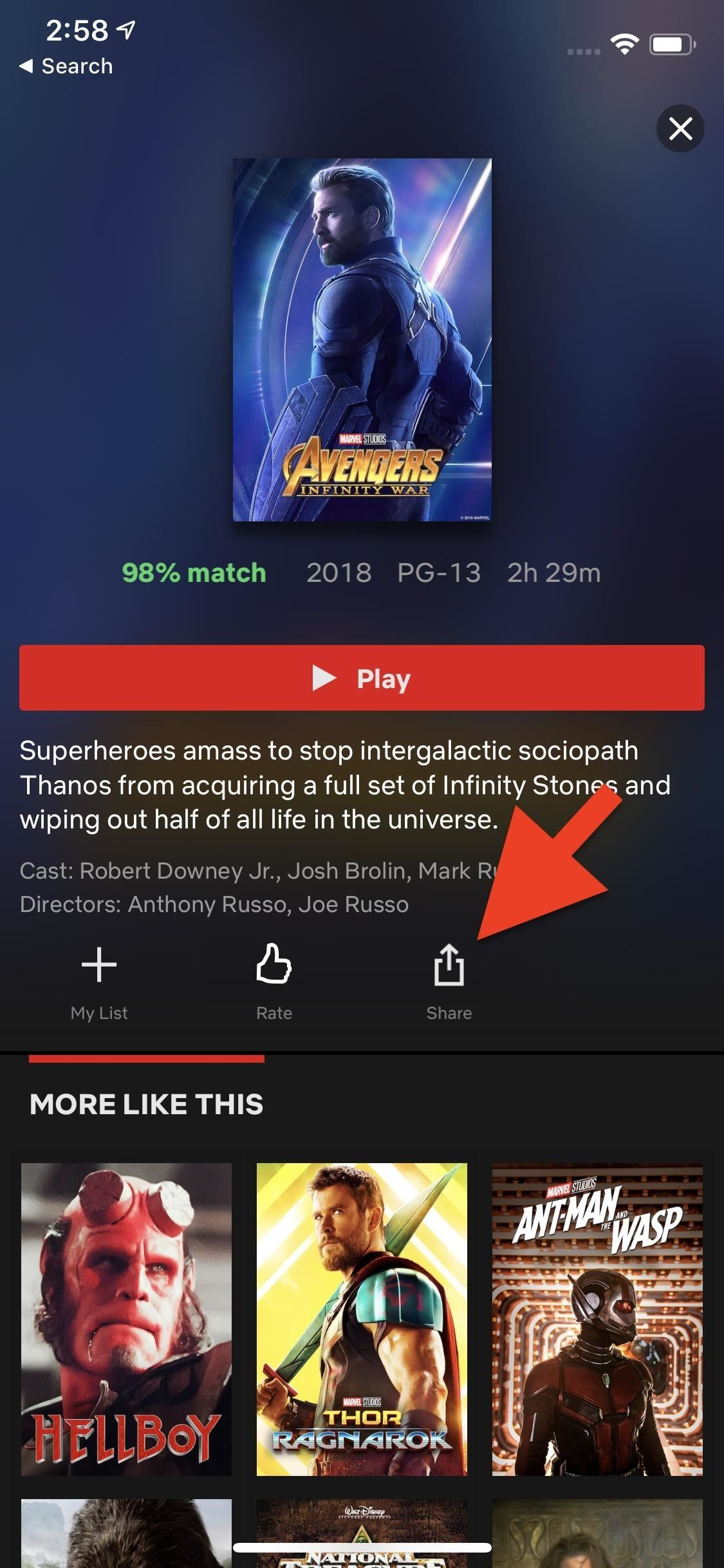 Share a Netflix Video You're About to Watch to Your Instagram Story So Friends Can Watch with You