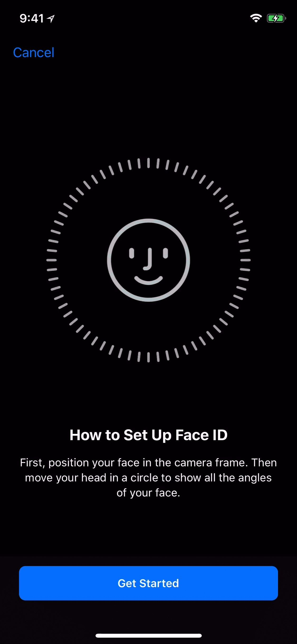 How To Register A Second Face ID Search On Your iPhone X In iOS 12