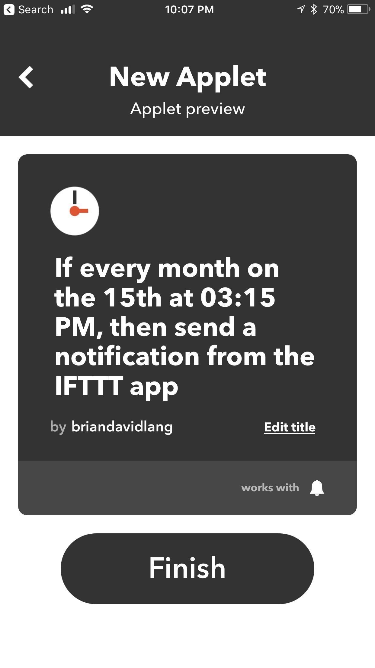 IFTTT 101: How to Create Custom Applets « Smartphones :: Gadget Hacks