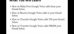 Use Google Voice from your Google Gmail inbox
