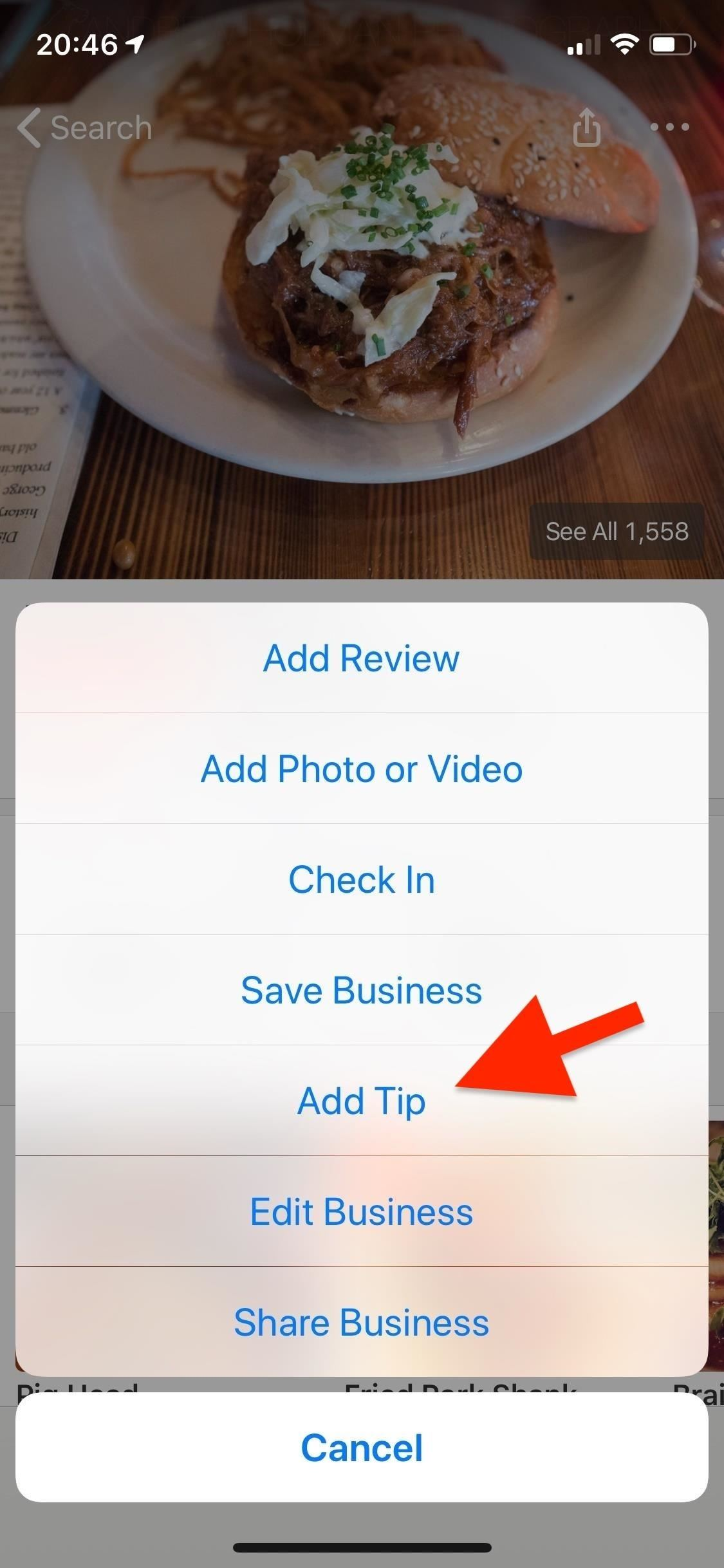 See tips for yelp (and why it matters)