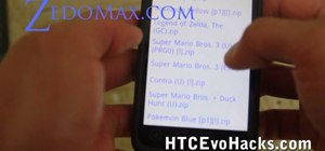 Install an NES emulator on an HTC Evo 4G smartphone