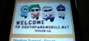Get the South Park app from Cydia for the iPhone/Touch
