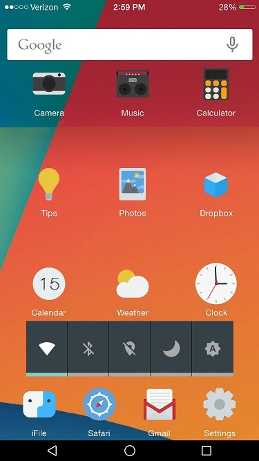 How to Make Your iPhone Look & Feel Like Android