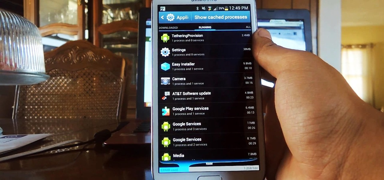Prevent Certain Apps from Running During Startup on Your Samsung Galaxy Note 2
