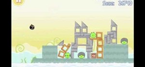 Get three stars on level 4-2 of Angry Birds Free