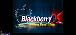 Wipe a blackberry bbsak easily