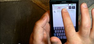 Use Verizon Wireless's new Motorola Droid X cell phone