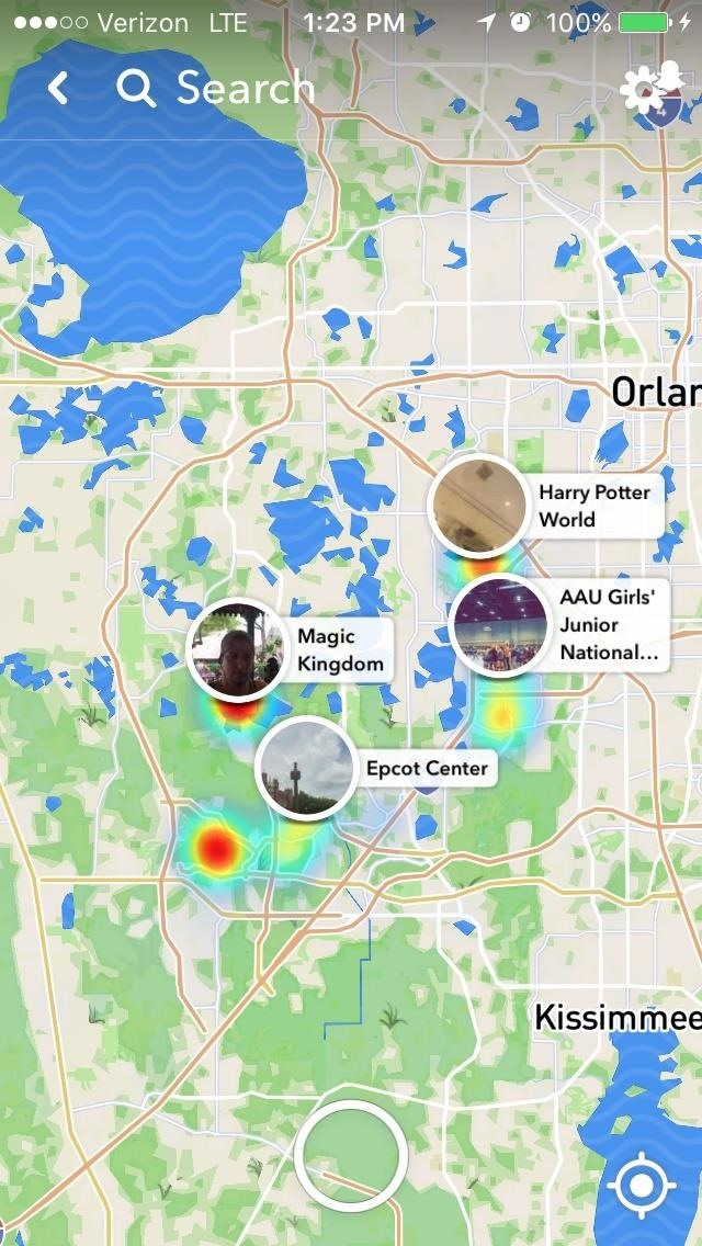 Snapchat's New Feature Shows You Where in the World Your Friends Are