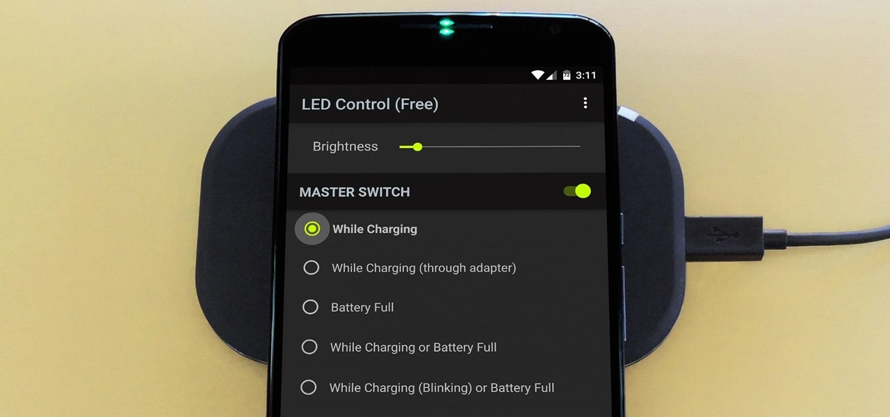 Enable the Charging LED on Your Nexus 6