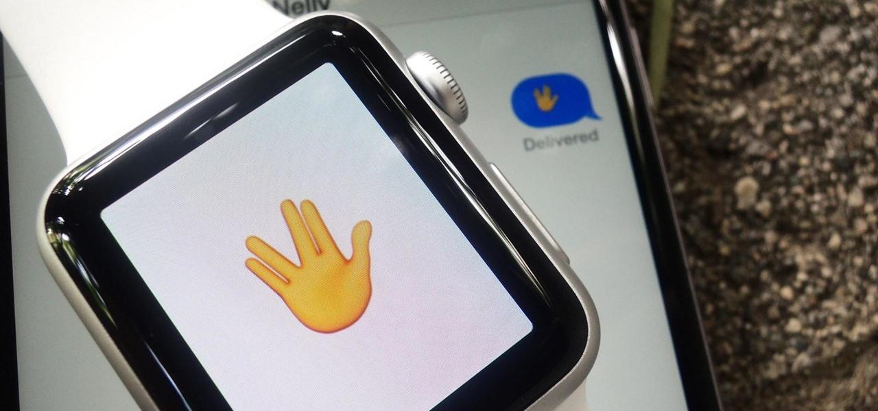 Use the Secret 'Vulcan Salute' Emoji on Your Apple Watch