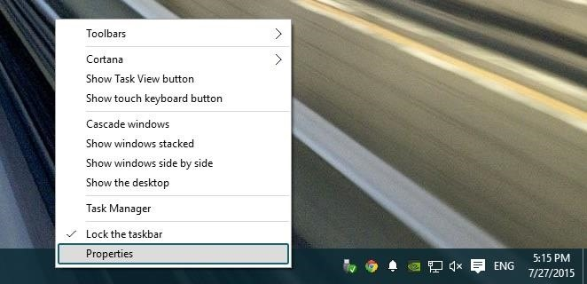how to open system tray windows 10