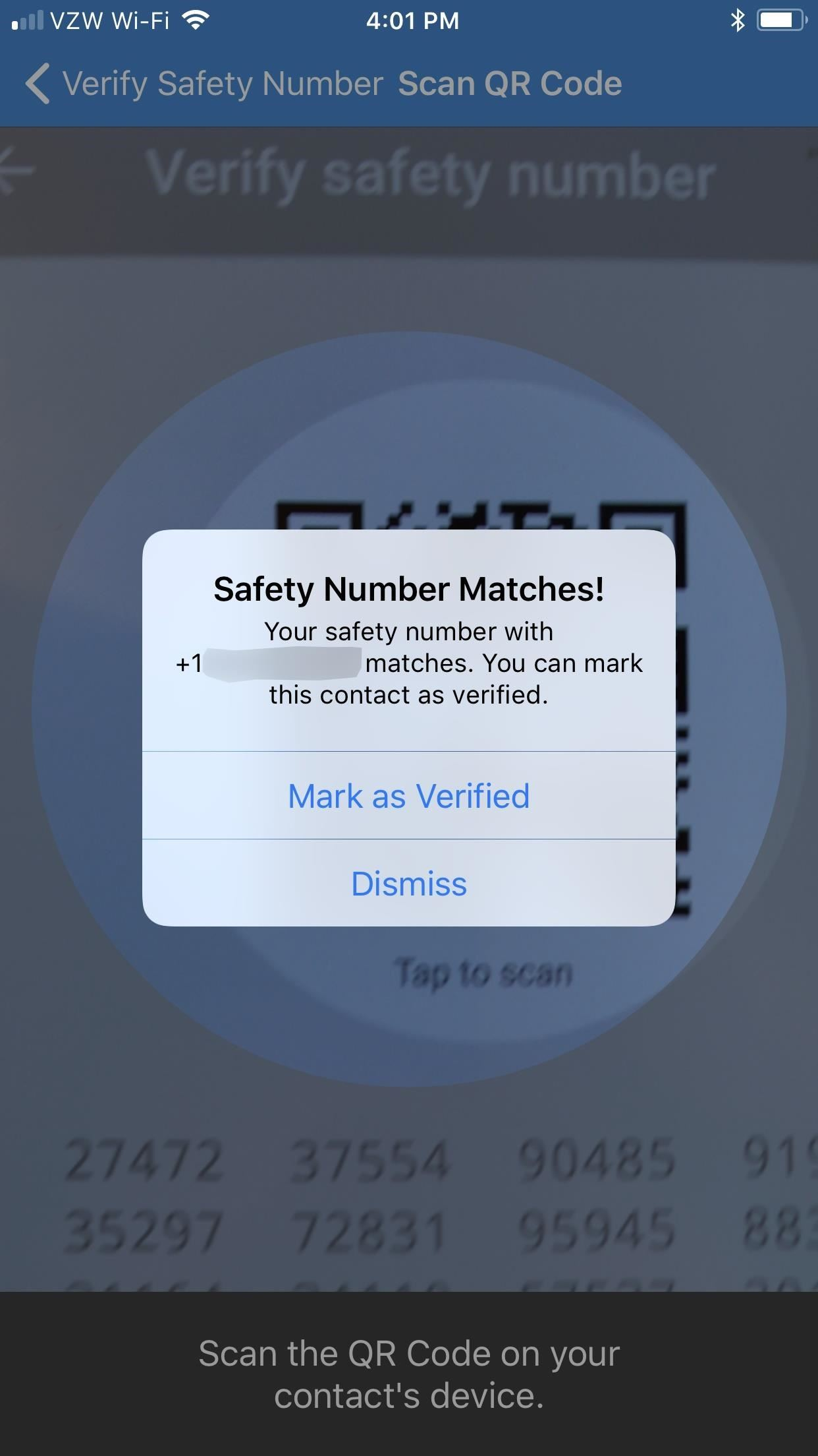 Signal 101: How to Verify the Identity of a Contact You're Communicating With