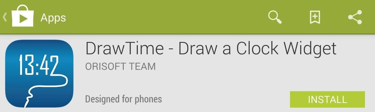 How to Draw Your Own Personal Clock Widget for the Nexus 7