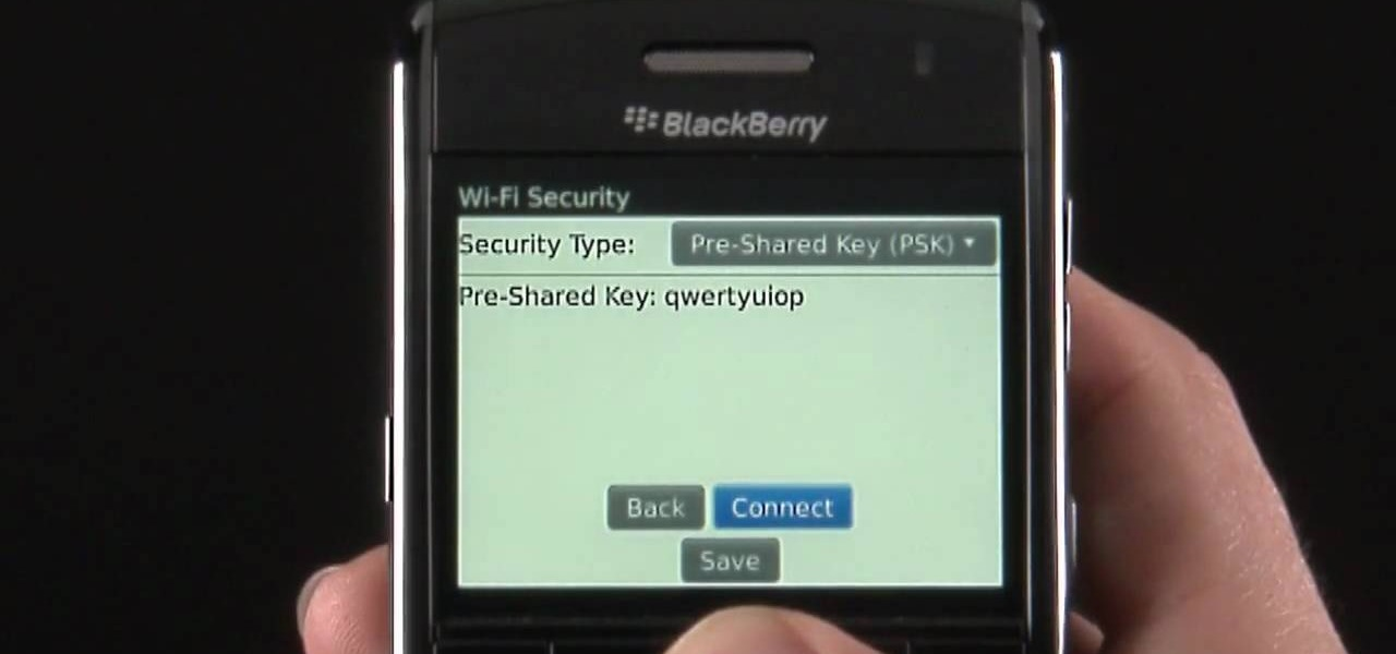 how to look up wifi password on blackberry