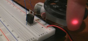 Build a laser tripwire that can trigger anything out of a photoresistor