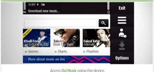 Redeem an Ovi Music gift voucher on a Nokia N97