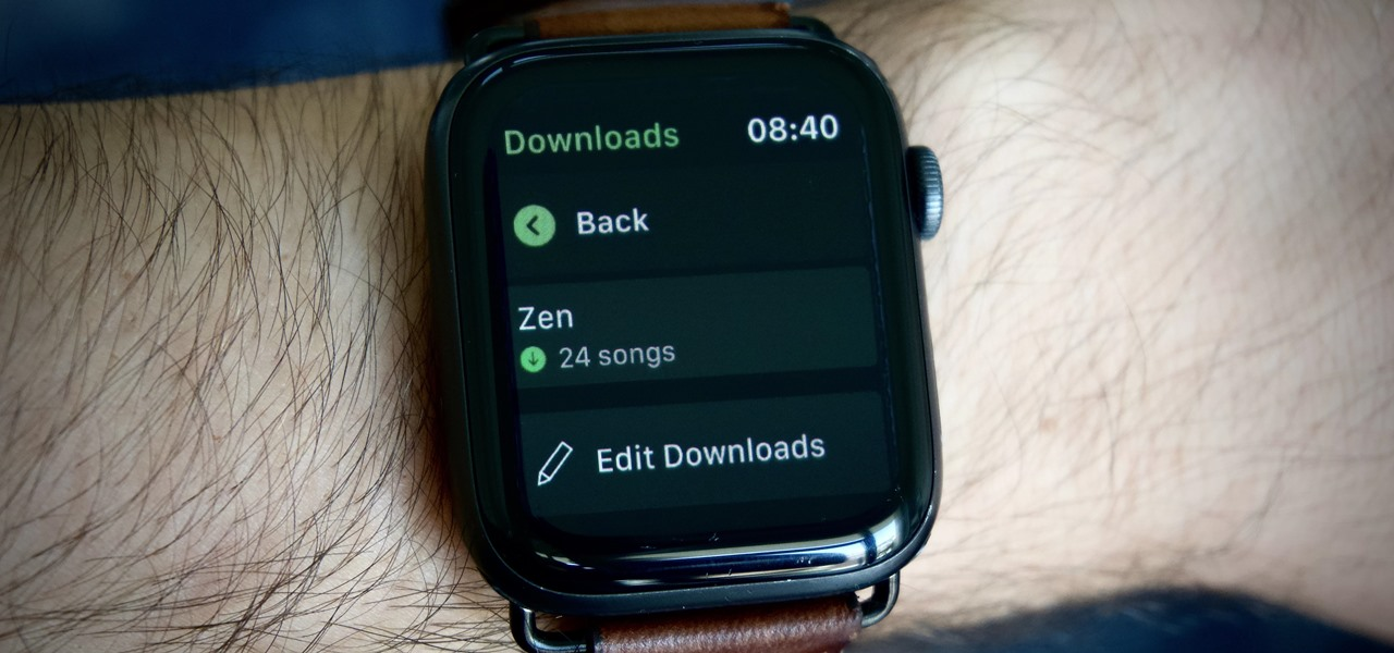 Download Spotify Songs & Podcasts on Your Apple Watch for Offline Playback