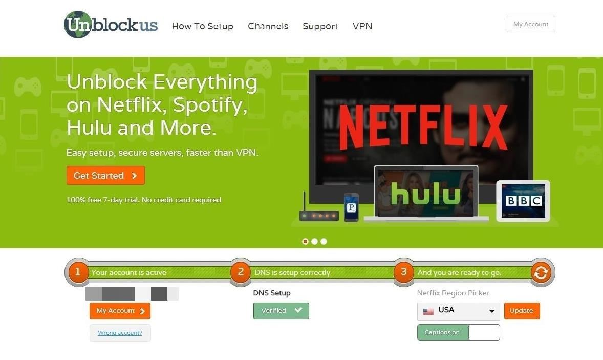 How to Unblock American Hulu, Netflix, & More on Chromecast