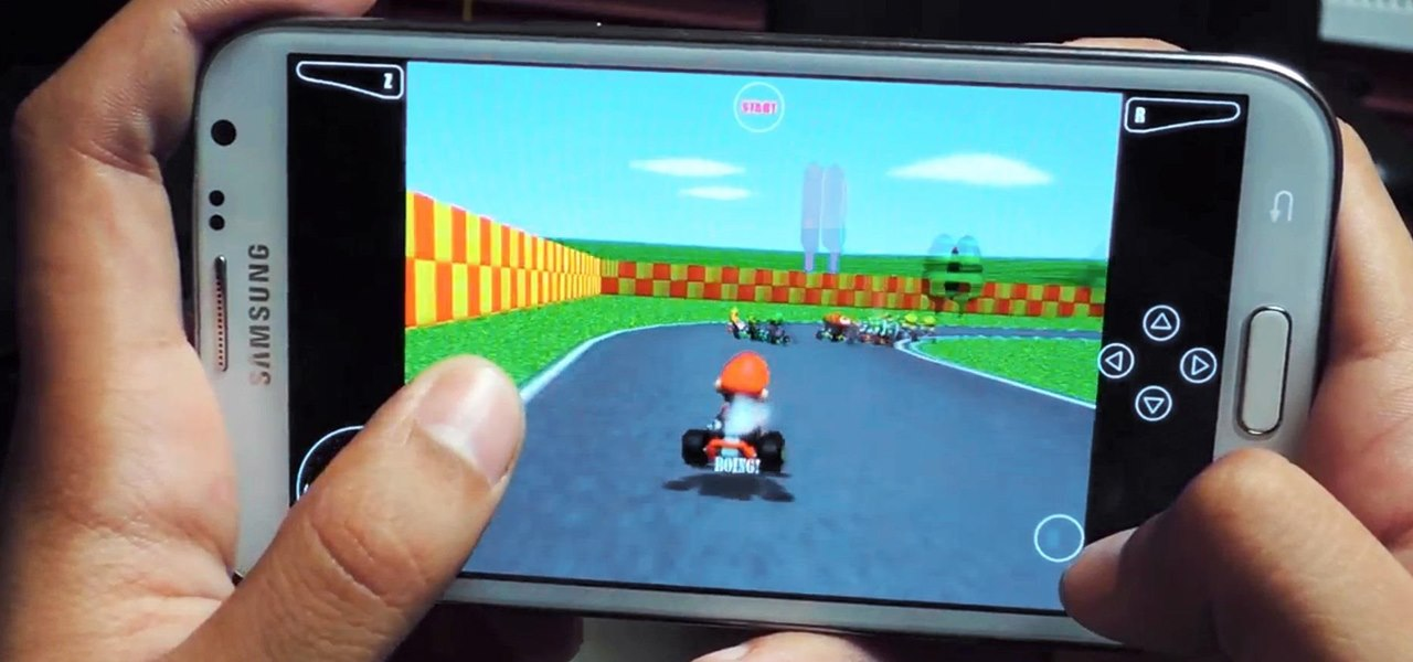 Play Your Favorite N64 (Nintendo 64) Games on Your Samsung Galaxy Note 2