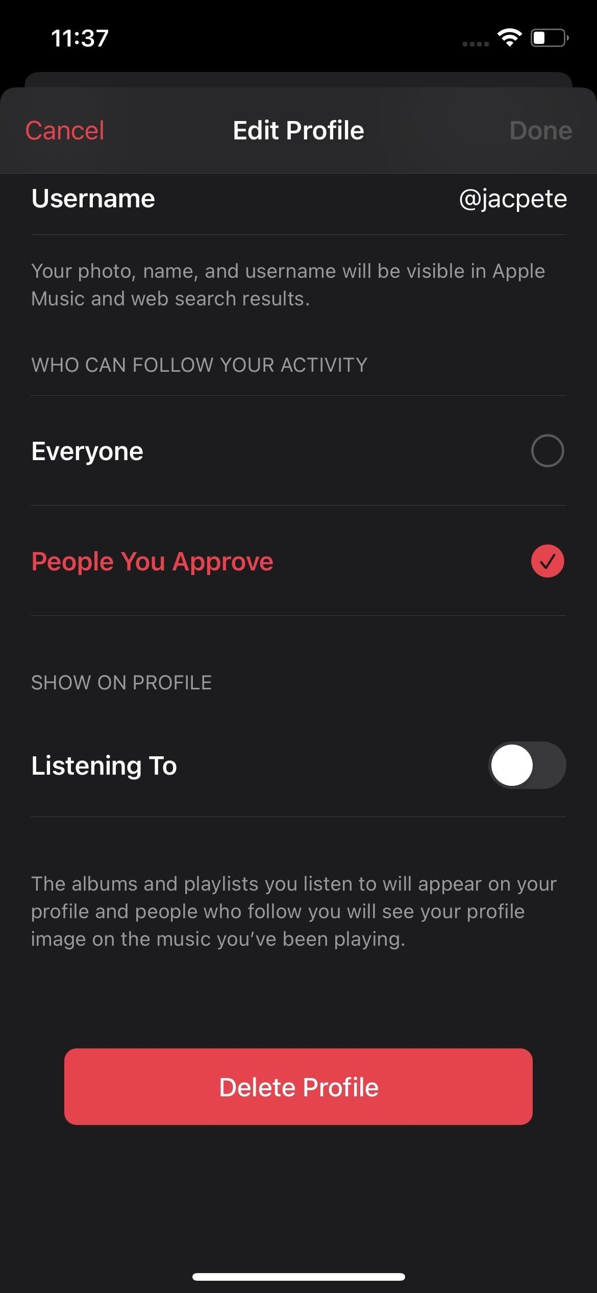 Check This Setting if You Don't Want Your Friends to See What You're Listening to on Apple Music