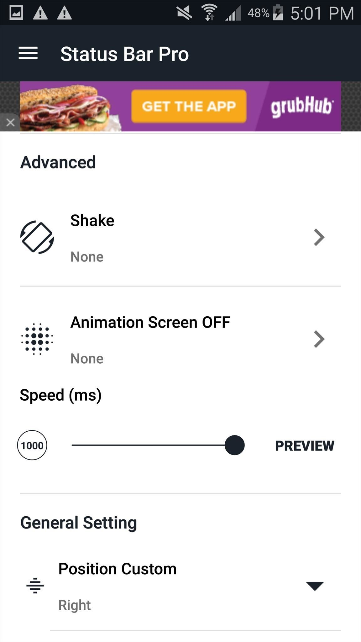 Perform Quick Actions with Custom Status Bar Gestures