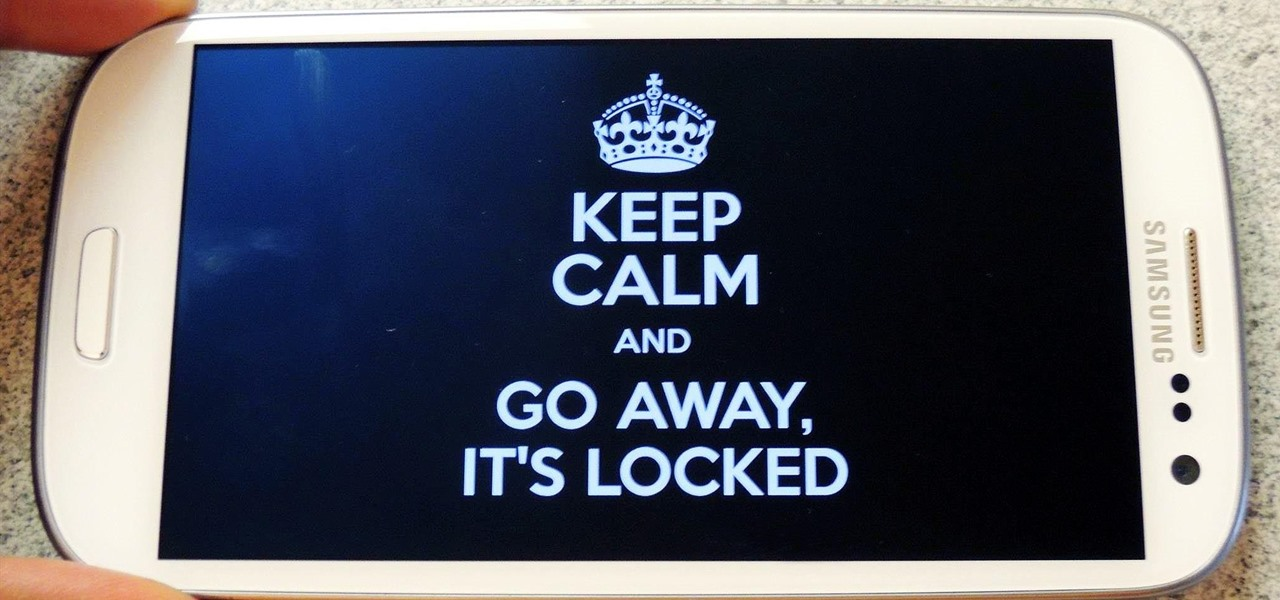 Prevent Friends from Snooping Through Your Galaxy S3 When Showing Them a Photo