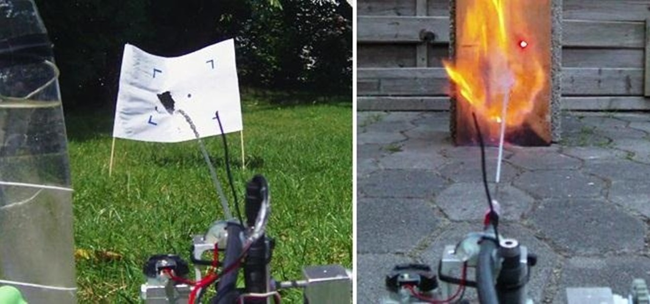 Build a Remote-Controlled Water Gun (Or Flamethrower!)