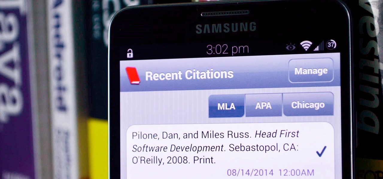 School Report? Let Android Handle Your Bibliographies for You