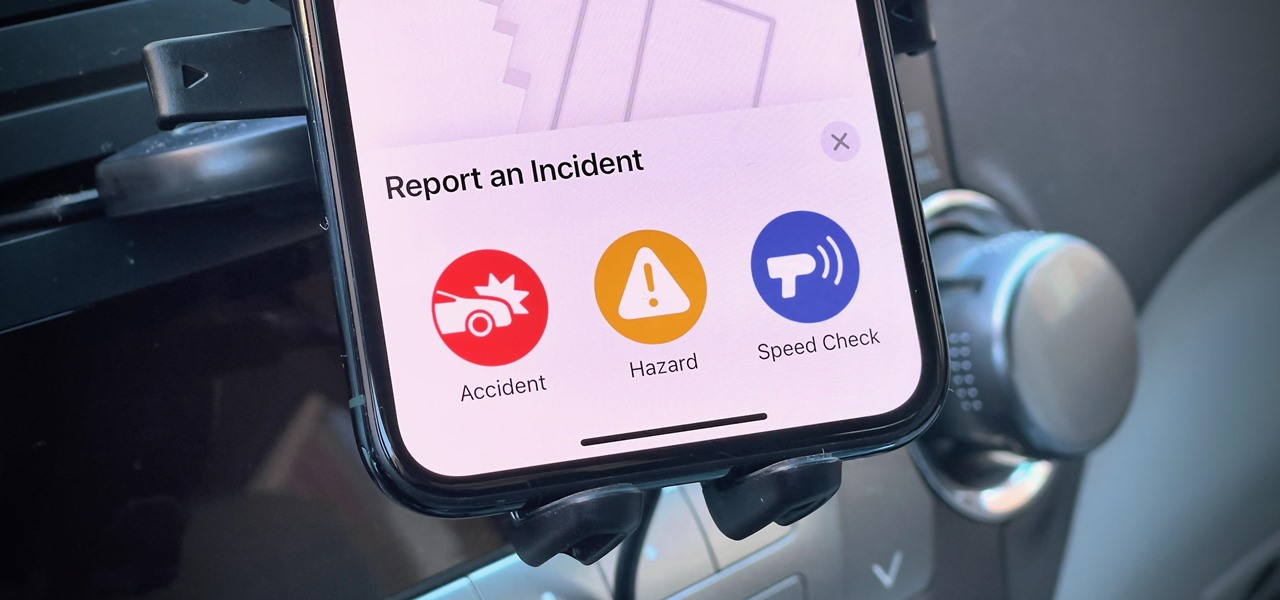 Report Speed Traps, Accidents & Hazards in Apple Maps During Navigation