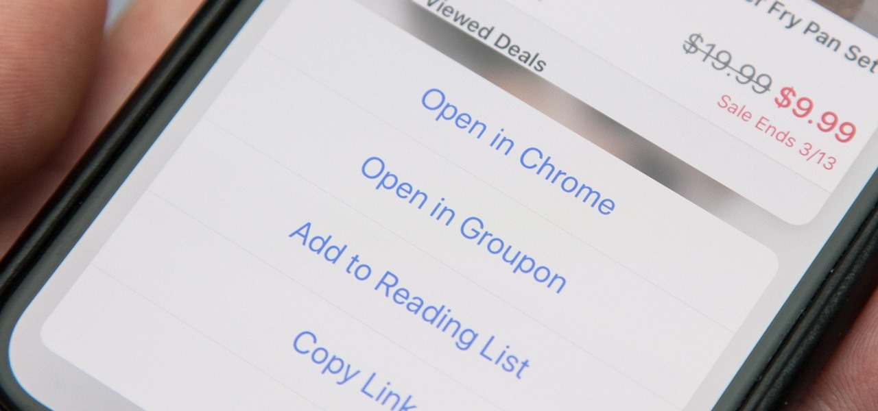 Open Links in Chrome Instead of Safari on Your iPhone Using the Shortcuts App