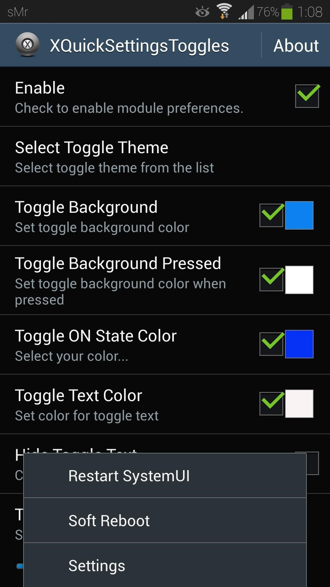 How to customize the quick settings toggles on your samsung galaxy how to customize the quick settings toggles on your samsung galaxy s4 with color themes samsung gs4 gadget hacks voltagebd Gallery