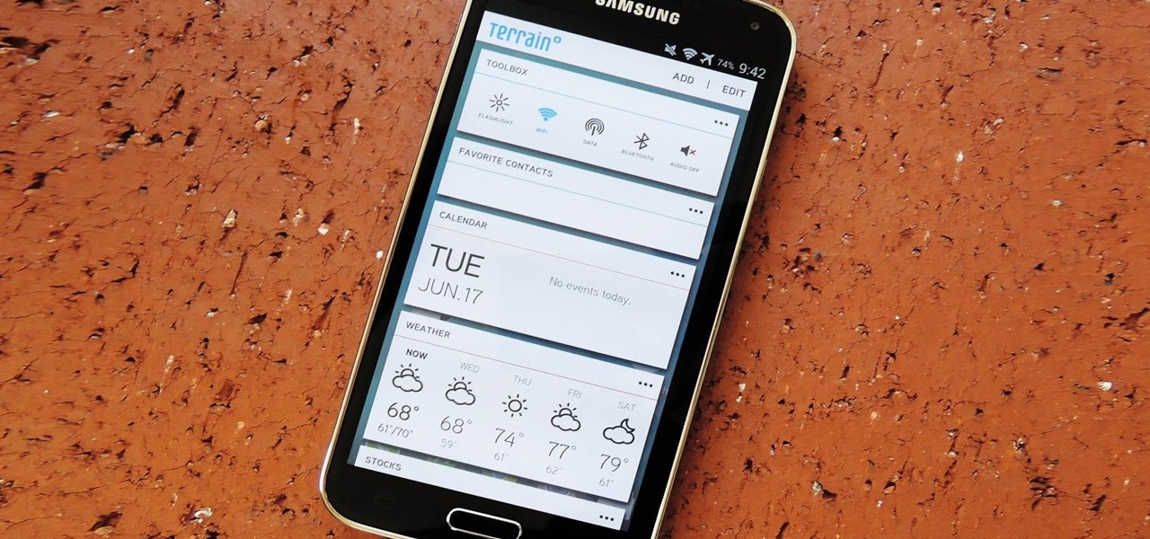 Samsung Releases Its New Terrain Home Launcher on the Play Store