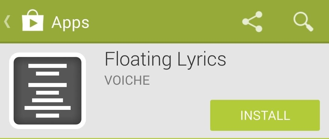 How to Add Floating Song Lyrics to Your Galaxy S4 to Sing Along from Any Screen