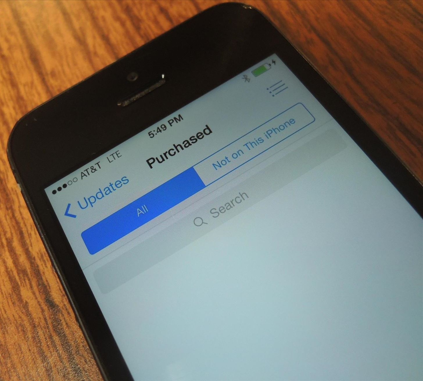 Purchased Apps Not Showing Up in the App Store? Here's How You Fix It in iOS 7