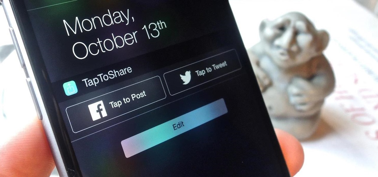 Post to Facebook & Twitter from Your Notification Center