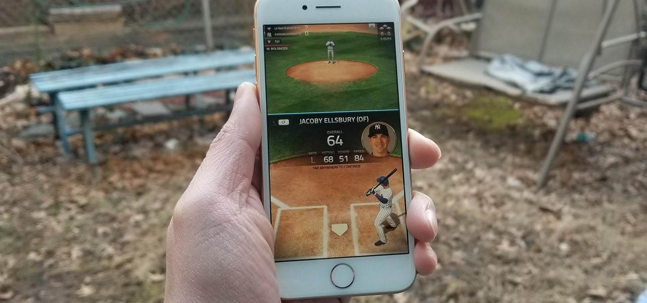 Play MLB Tap Sports Baseball 2018 on Your iPhone Right Now