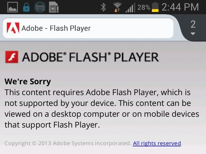 How to Install Flash Player on Your Samsung Galaxy Note 2 to Stream Amazon Prime Instant Videos & More