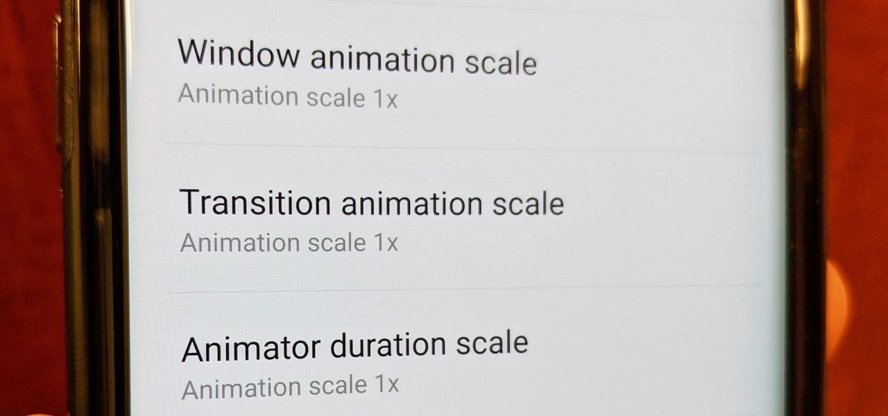 Speed Up Transitions & Animations on Your Galaxy S9