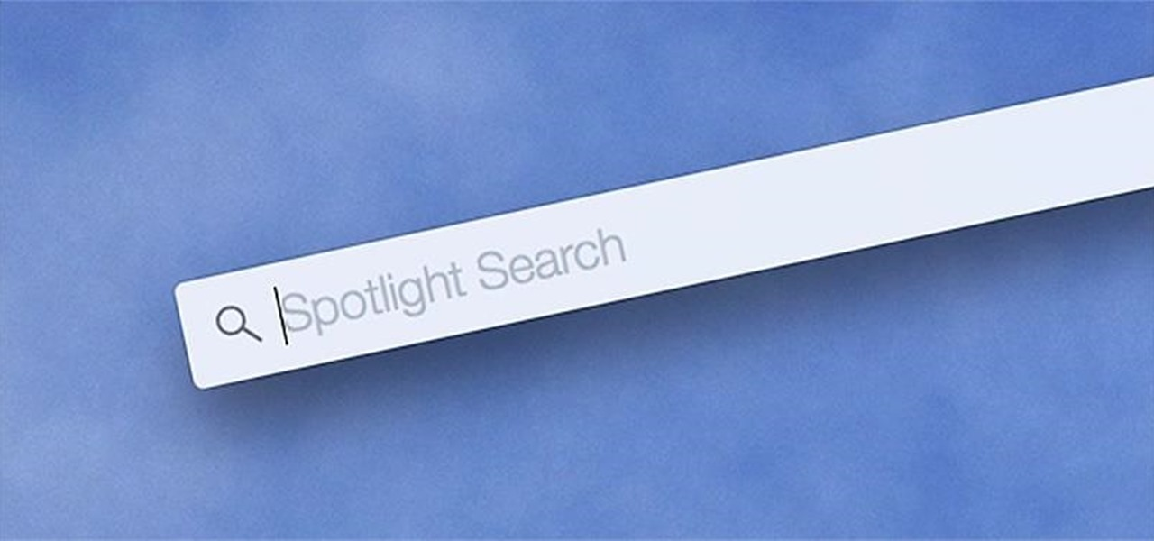Customize Spotlight Search in Mac OS X Yosemite