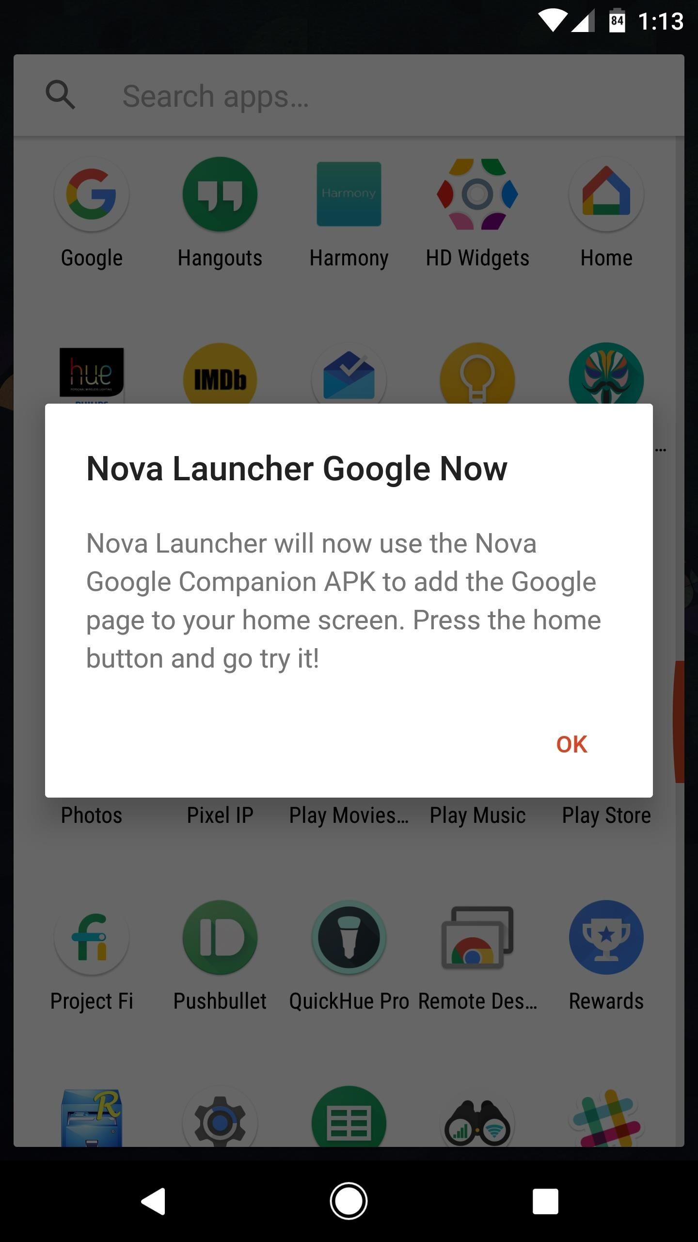 Nova Launcher 101: How to Enable Google Now Integration on Your Home Screen
