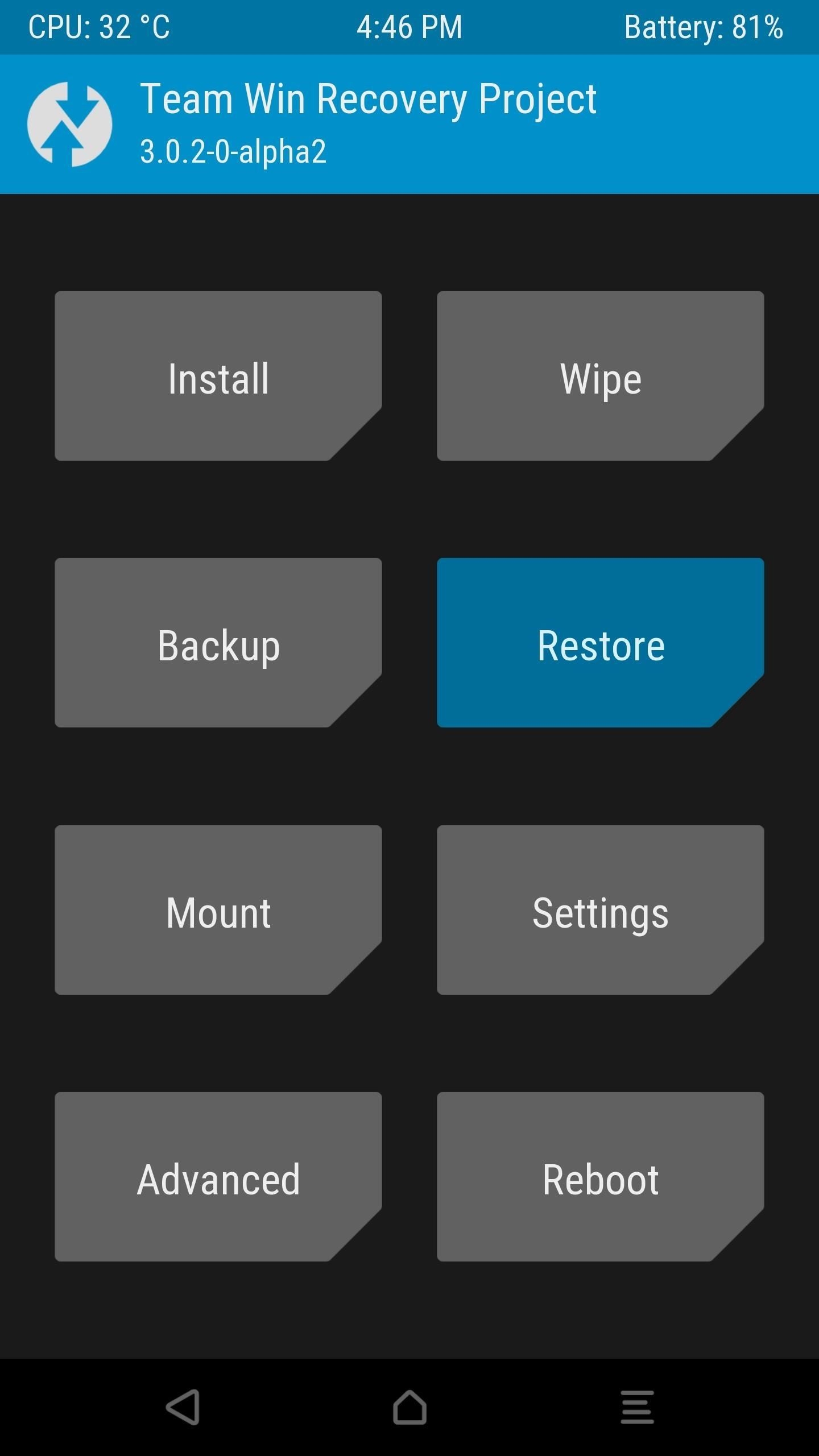 TWRP 101: How to Make a NANDroid Backup & Restore Your Entire Phone