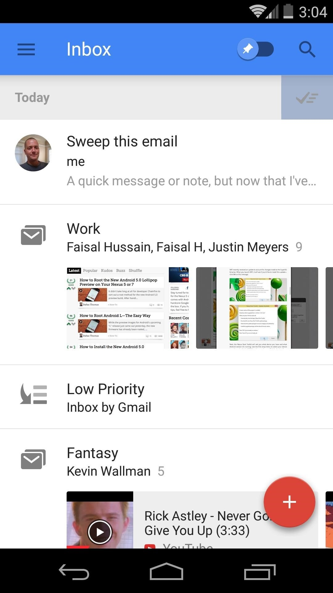 How to Get the Most Out of Google's New Inbox by Gmail