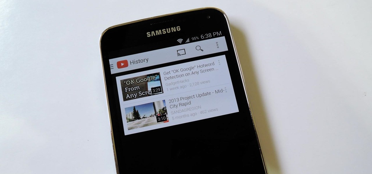 Black Out YouTube's Background for Better Battery Life on Your Galaxy S5