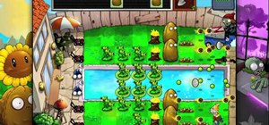 Beat level 3-10 of Plants vs Zombies HD for the iPad